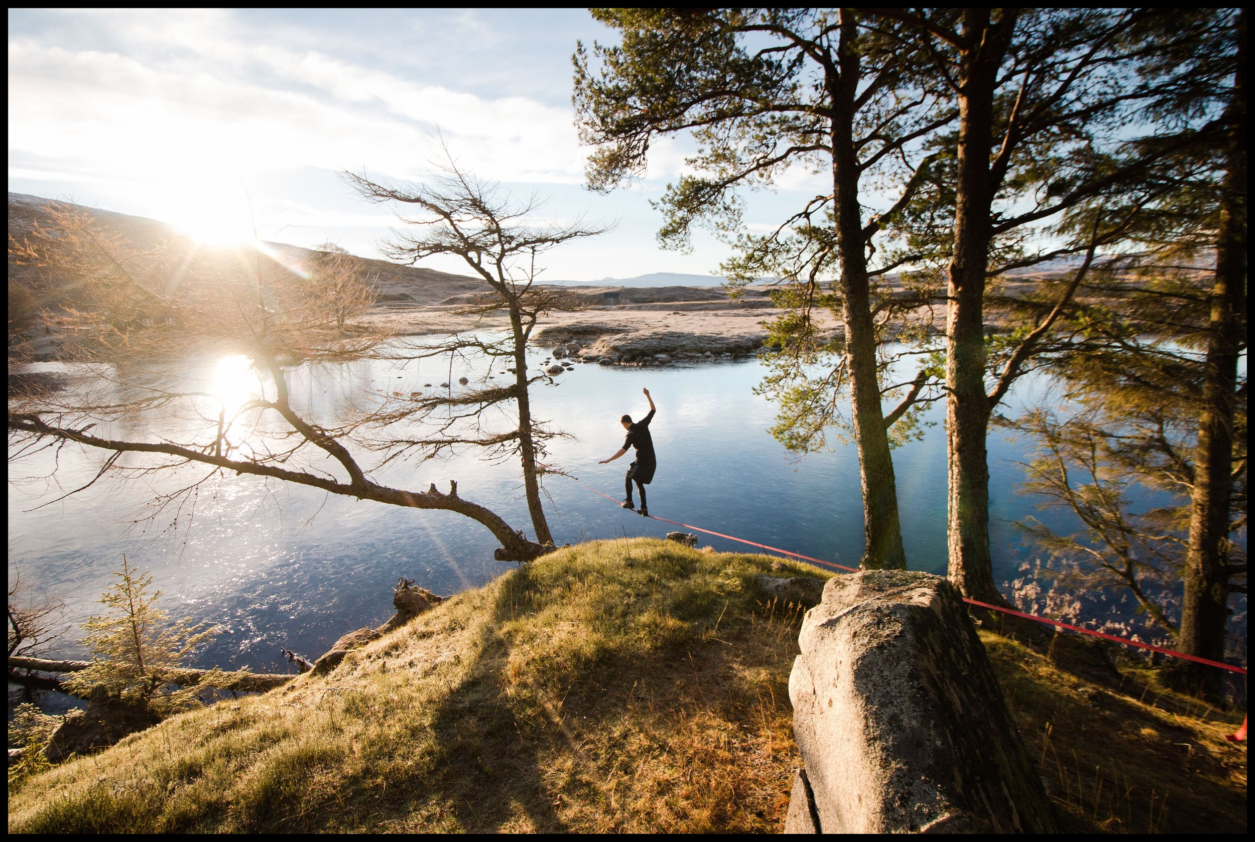 Loch Ossian, 1 mile from Corrour train station