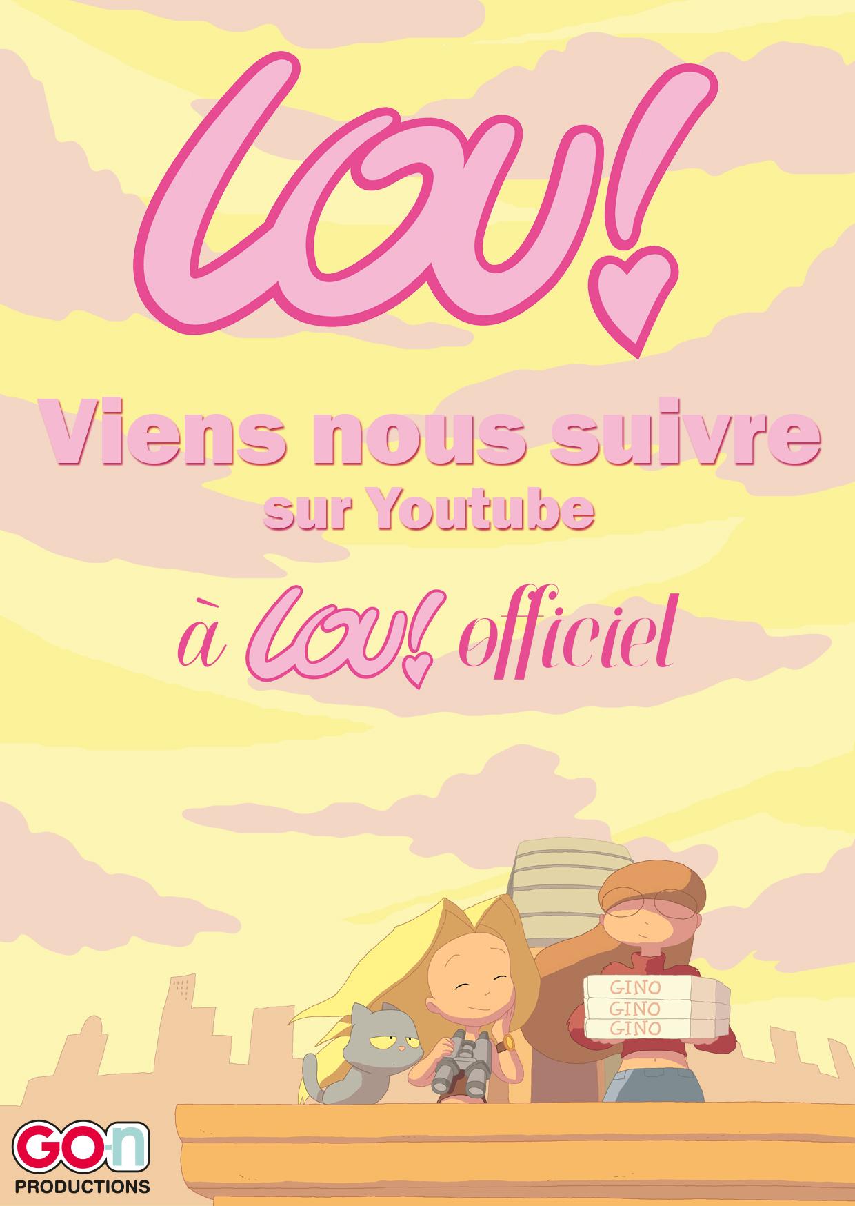 Composition affiche affiche Lou! de Julien Neel