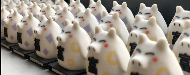 Impréssion 3D des figurines cochons