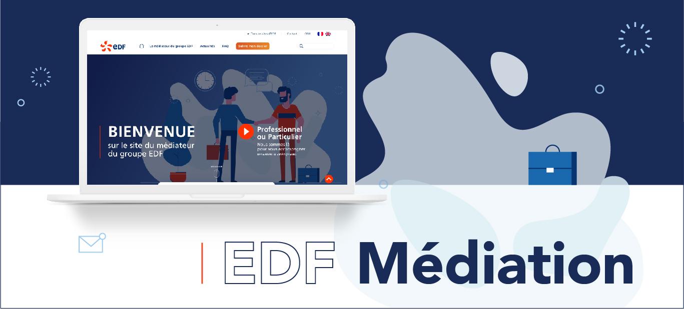 Projet EDF Médiation UX/UI Design