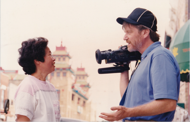 Camera journalist Skip Blumberg  pioneered the single person crew