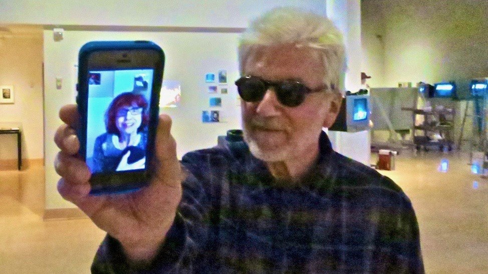 Videofreex Skip Blumberg and Nancy Cain FaceTime
