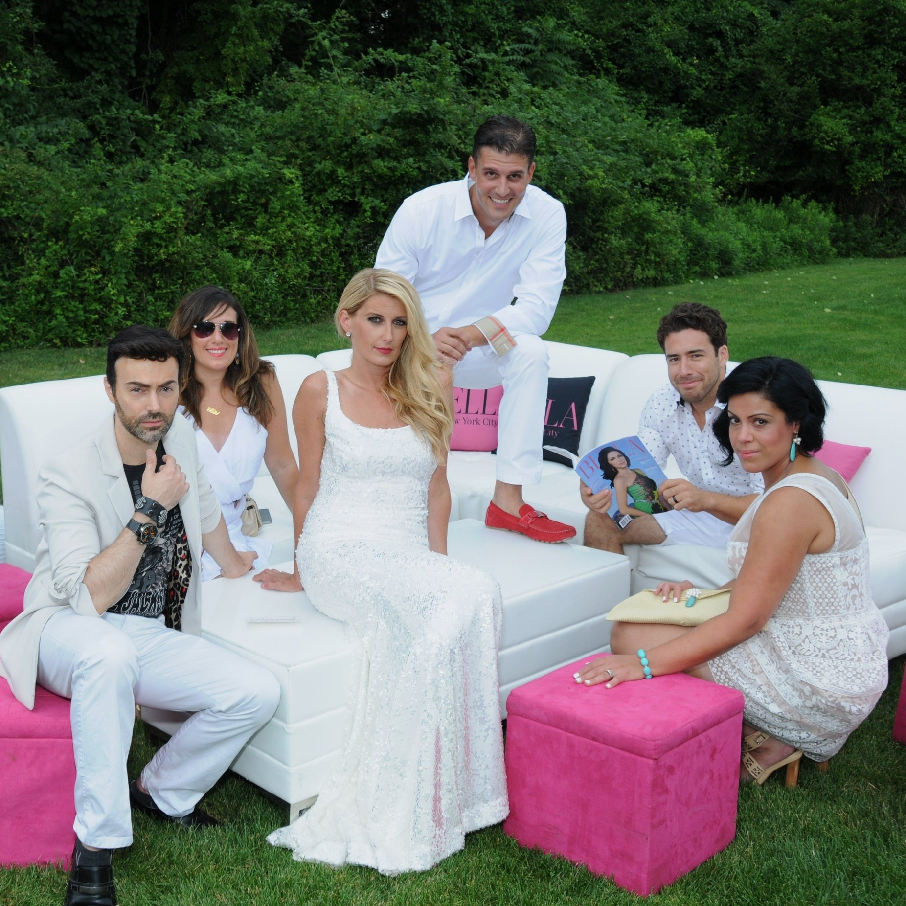 Bella Magazine Annual Hamptons White Party
