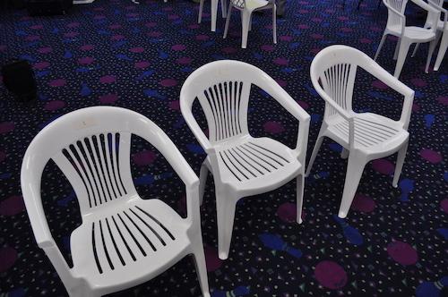 Broken Chair Injury