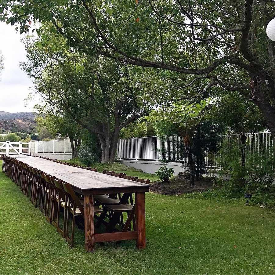 8-ft Farmhouse Table