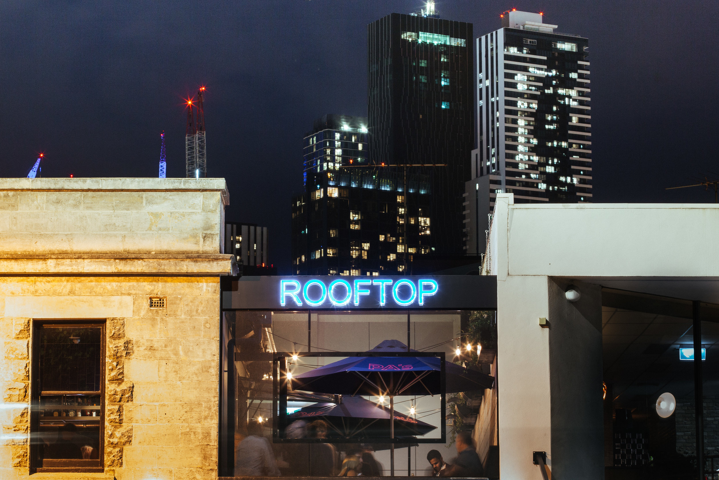 Prince Alfred Rooftop, Carlton
