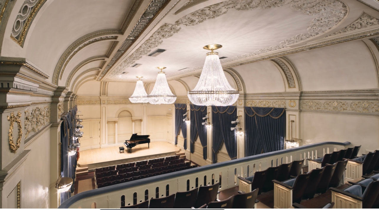 Weill Hall at Carnegie Hall in New York