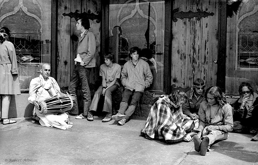 """Photo Courtesy of belhistory.weebly.com depicting """"the Brotherhood"""" in front of the """"Mystic Arts"""" shop."""