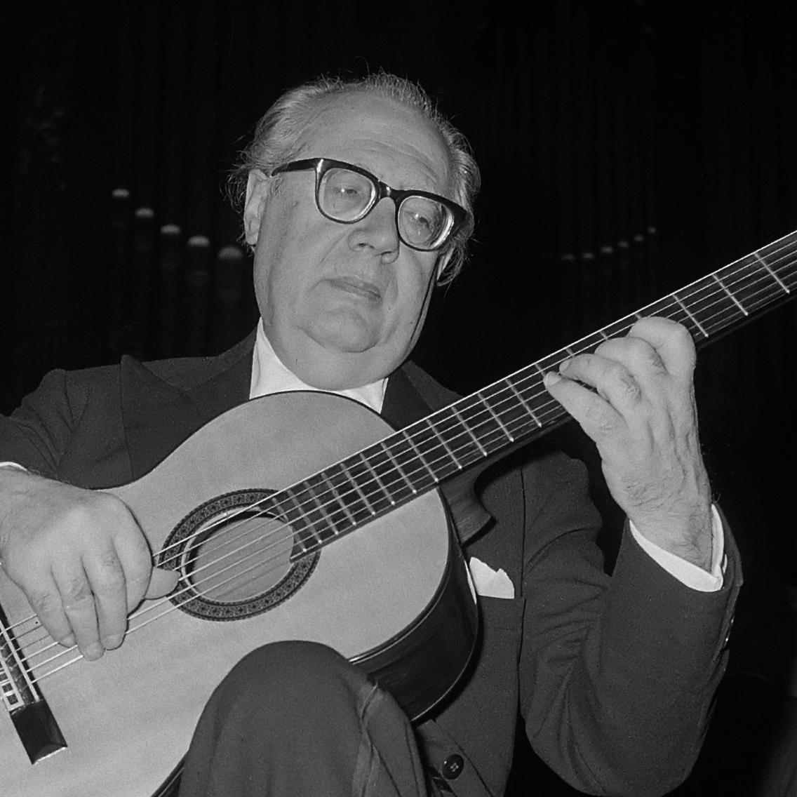 Andres Segovia in 1962