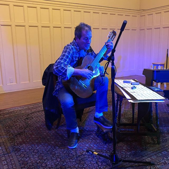 Sound checked. Big night is tomorrow night! #classical #guitar #erichenderson #classicalguitar