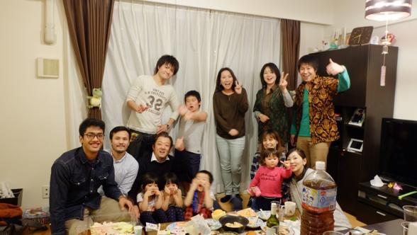 Akhir tahunan bareng homestay family