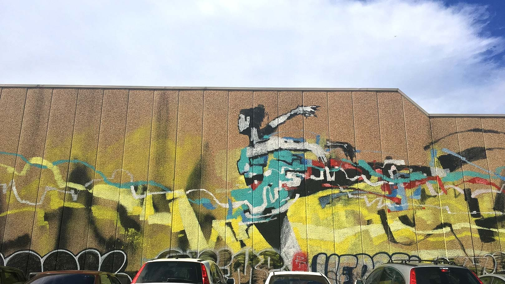 Anthony lister mural