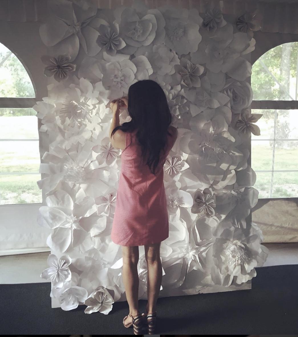 AJBees Flower Wall
