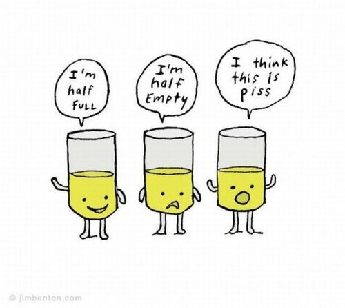 It's OK to be real. Illustration by  Jim Benton , via: https://bit.ly/2JxskJM