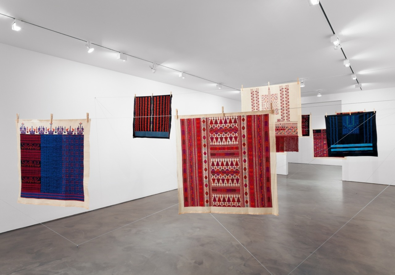 Mona Hatoum  with  Inaash ,  12 Windows , 2012-13.