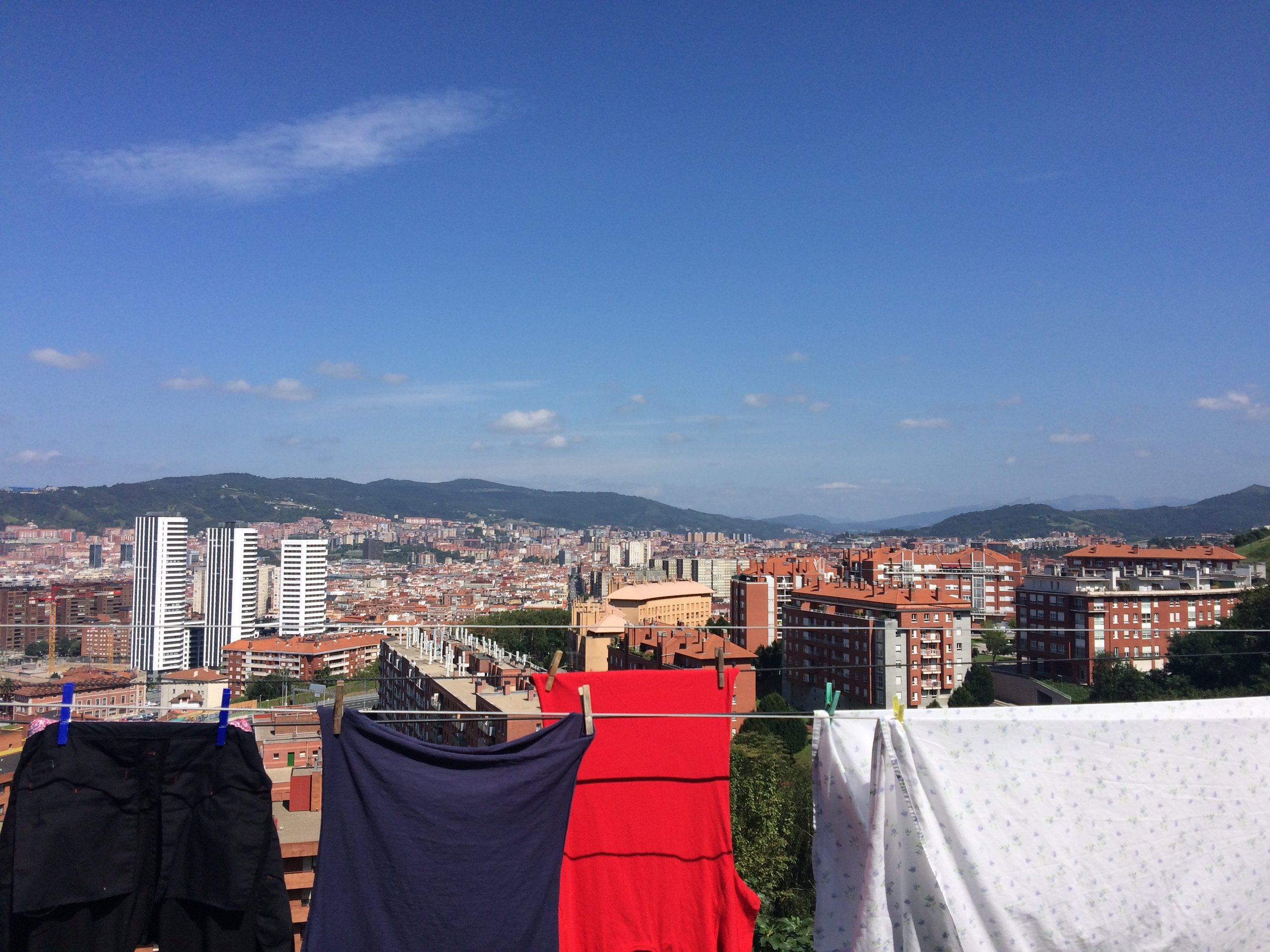 Bilbao, and passing through on the Camino de Santiago.