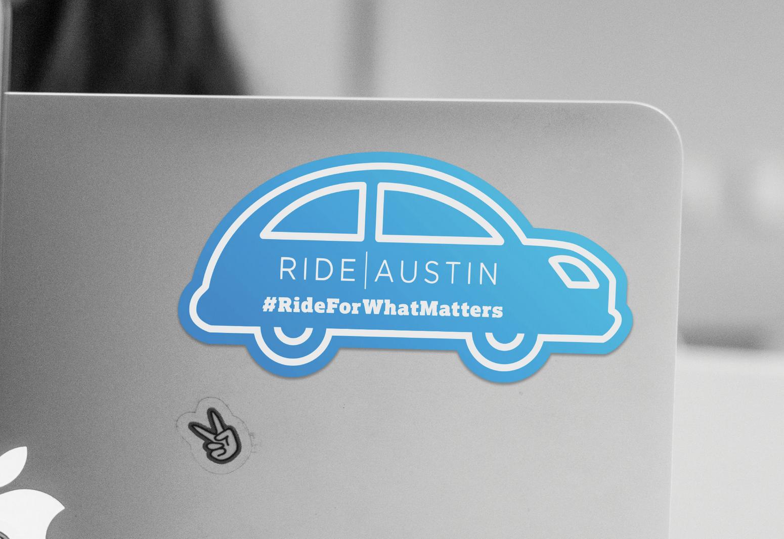 Ride Austin   #RideForWhatMatters