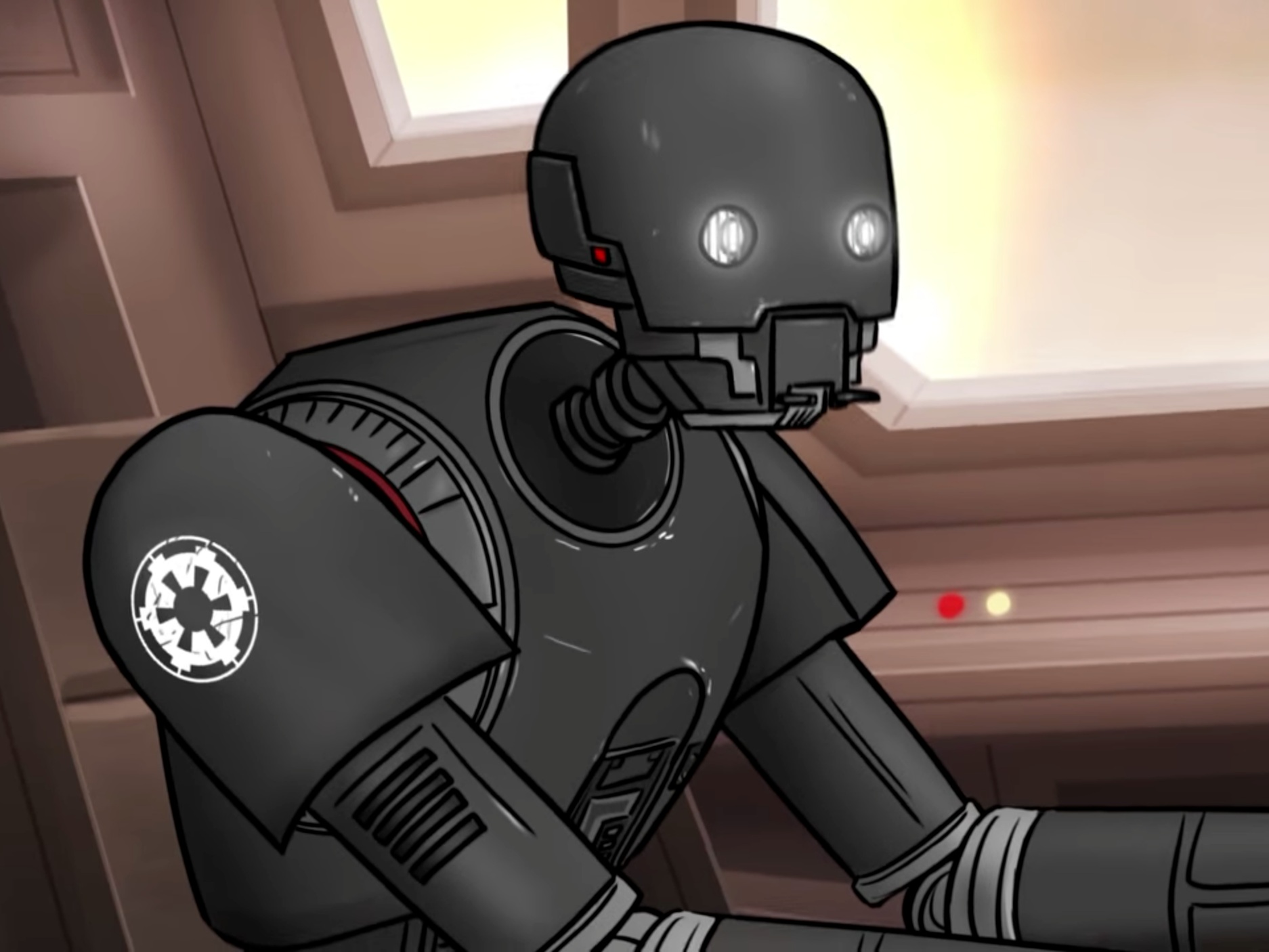 K-2SO  How Rogue One Should Have Ended How It Should Have Ended