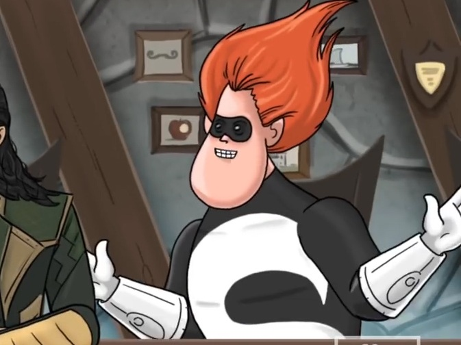 SYNDROME  The Incredibles HISHE / Spidey: FFH HISHE How It Should Have Ended