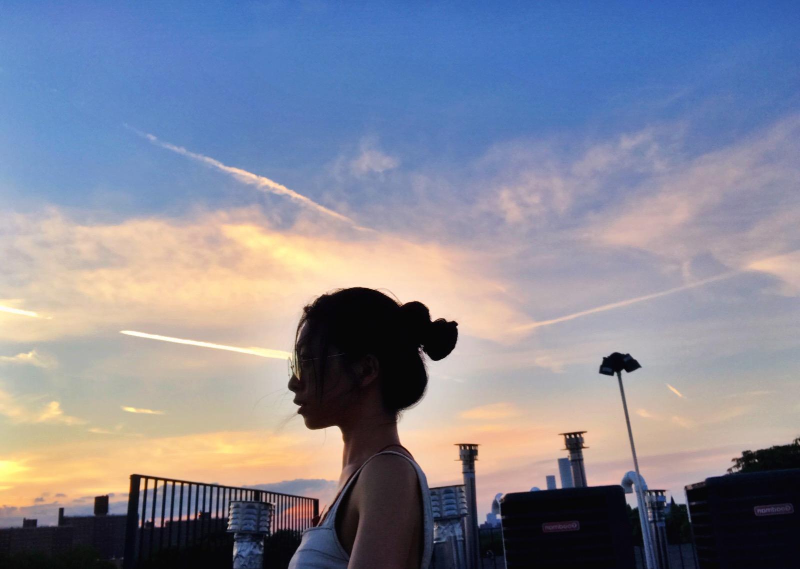 Watching the Moon,Bedstuy,Brooklyn,NY 2016