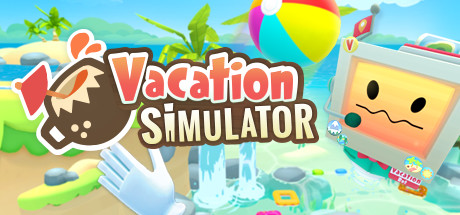 Image of the Vacation Simulator VR game which is being added to Digital Worlds Virtual Reality arcade.