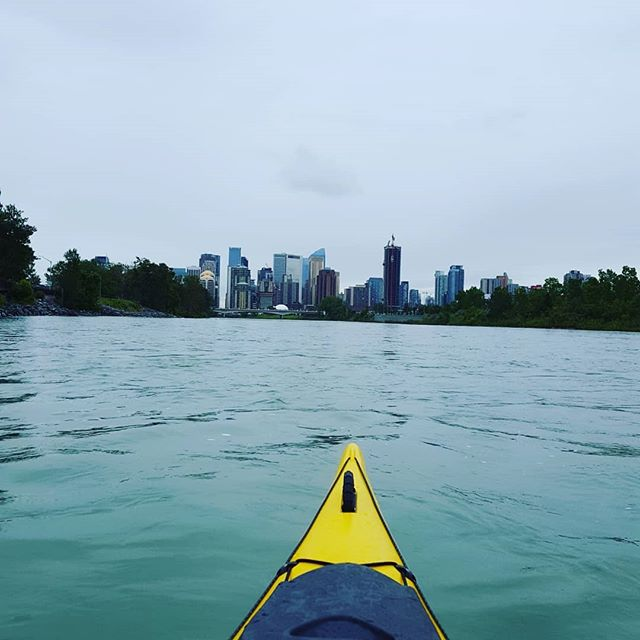Lack of woodworking update: been busy kayaking and renovating (not pictured: renovations)! #yycliving #Calgary #YYC #kayaking from #edworthypark to #peacebridge to #Inglewoodyyc