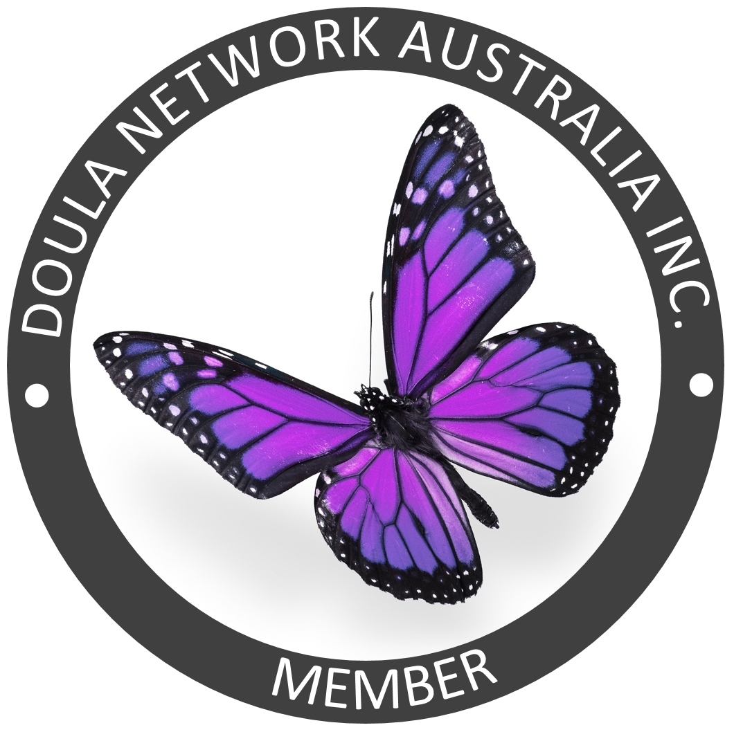 Amanda is a registered birth doula and postpartum support doula with the Doula Network Australia Inc