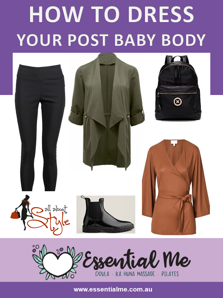 Personal stylist and shopper Antoinette Stonham shares her top tips to dress your post baby body with Amanda the Sydney based birth and postpartum doula.