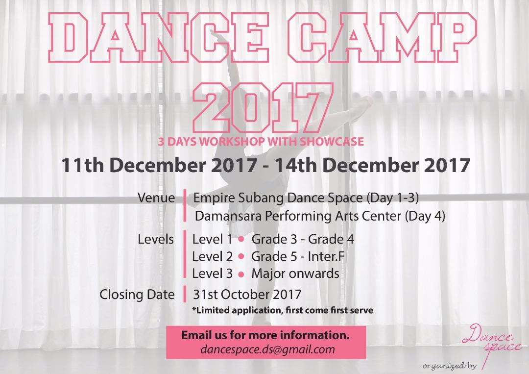 DANCE CAMP - 2017