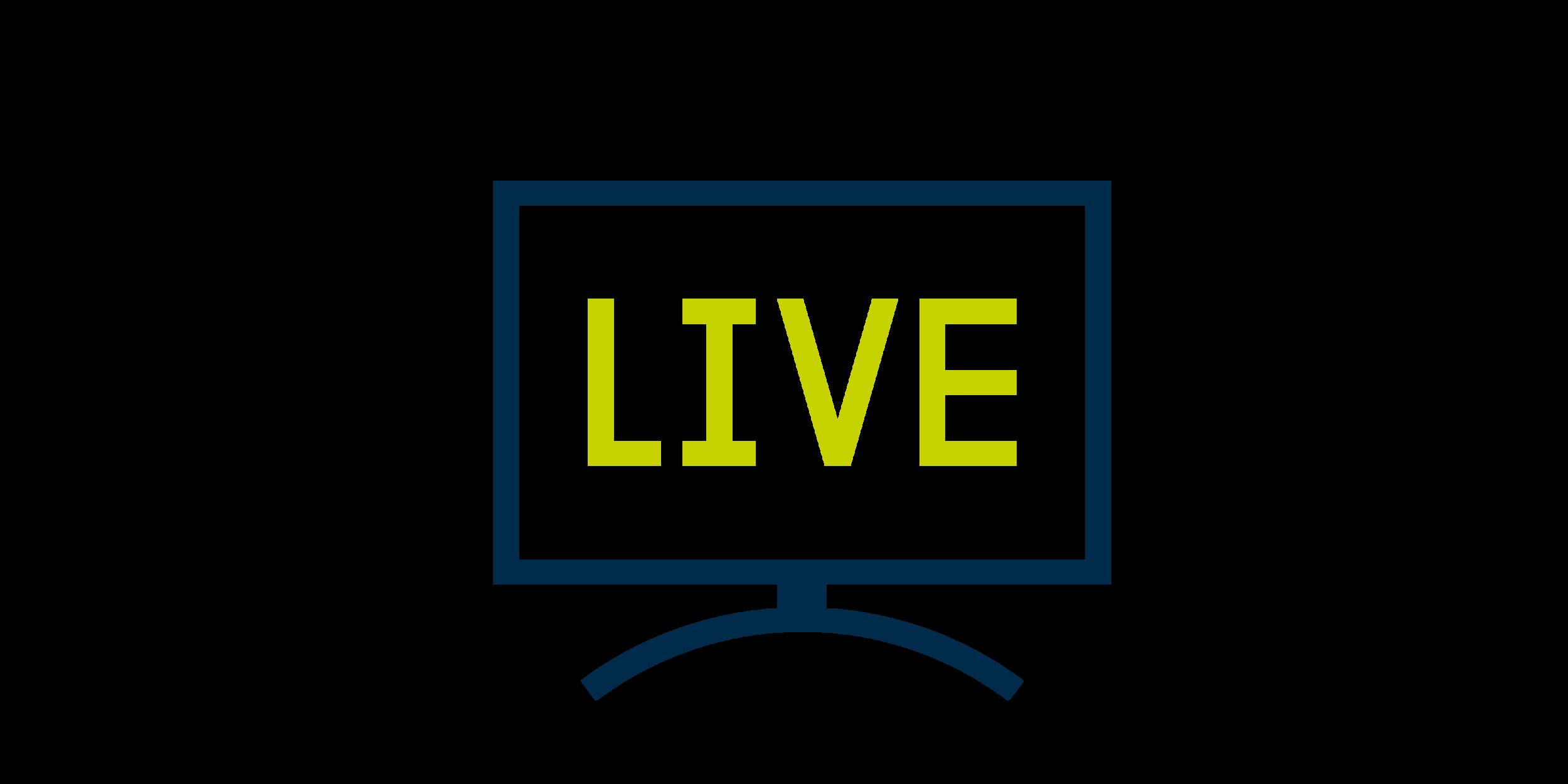 Live Sport - Shown on big screen TV's