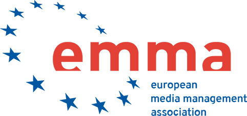 European Media Management Association (EMMA) - EMMA is the world's most established academic association in the field of media business. The association supports advancement in media management research, scholarship and practice throughout Europe and around the world. EMMA's flagship publication, the Journal of Media Business Studies, publishes original scholarly articles that apply business theories to the examination of media and the media industrieshttps://www.media-management.eu/
