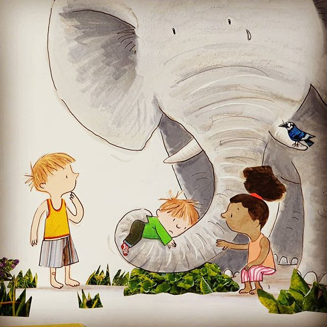 In 'My Life in Books' today I explore empathy in picture books, using the profound 'The Day War Came' as the discussion point. Link in bio. . Image from the forthcoming 'Only You Can Be You' (@zonderkidz) . #timwarnes  #mylifeinbooks . #thedaywarcame #nicoladavies #rebeccacobb #empathy #picturebooks #kidlitillustration #kidlit #walkerbooks #war #refugees #chooselove