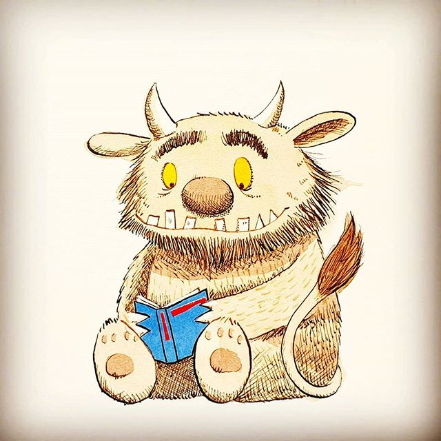 Sendak's 'Where the Wild Things Are' is a kidlit classic. But have you ever wondered what gender they are? My Life in Books explores the claim that they are politically incorrect, and I ask, Are the wild things genderqueer? Link in bio. #storytellertim #mylifeinbooks . #wherethewildthingsare #wildthing #wildthings #wildrumpus #mauricesendak #sendak #kidlit #kidlitillustration #childrensclassics #picturebook #icons #nonbinary #genderqueer #timwarnes #chapmanandwarnes