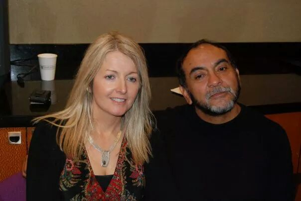 Dom Miguel Ruiz, the author of The Four Agreements, and myself enjoying a trip to Honduras to visit the Mayan temples. - 2009