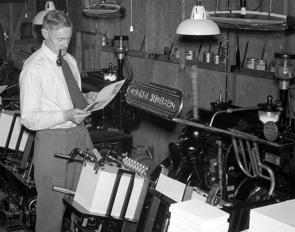 Arthur Wood; Founder & Director 1952-1982