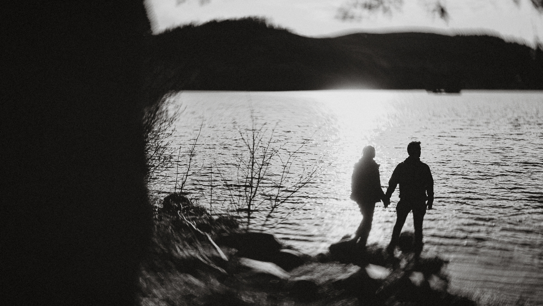 scotland-stirlingshire-loch ard with Nicolas et Karine