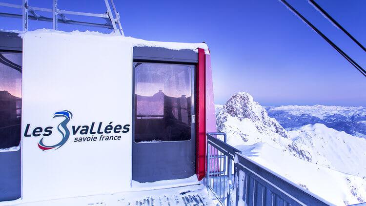 """Reportage photo pour la prestigieuse  station de ski de """"Courchevel"""""""