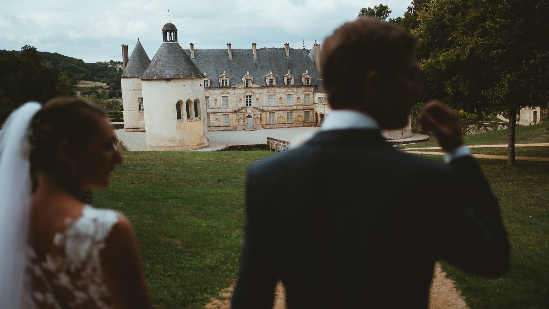 Mariage au Chateau de Bussy Rabutin