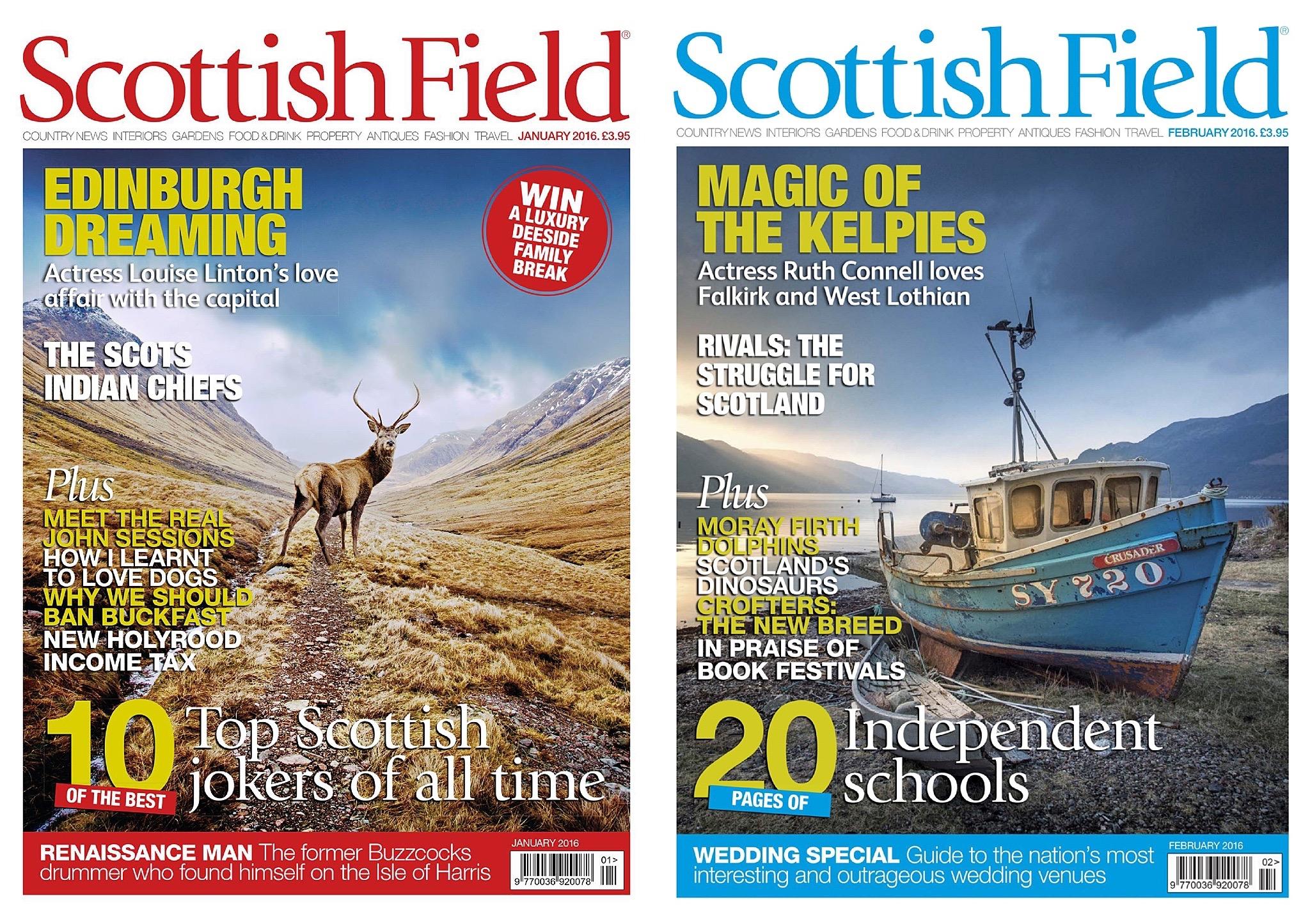 Scottish Field - Publication - article - dossier - presse