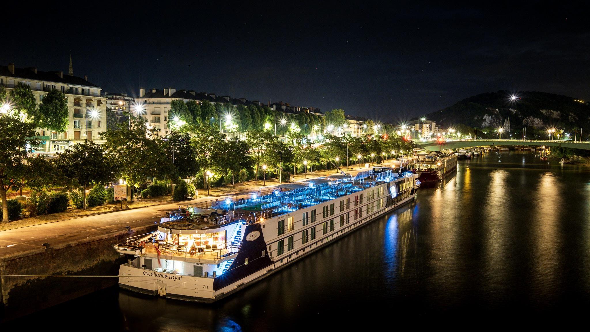Reportage photo pour Reisebüro Mittelthurgau Fluss sur l'Excellence Royal