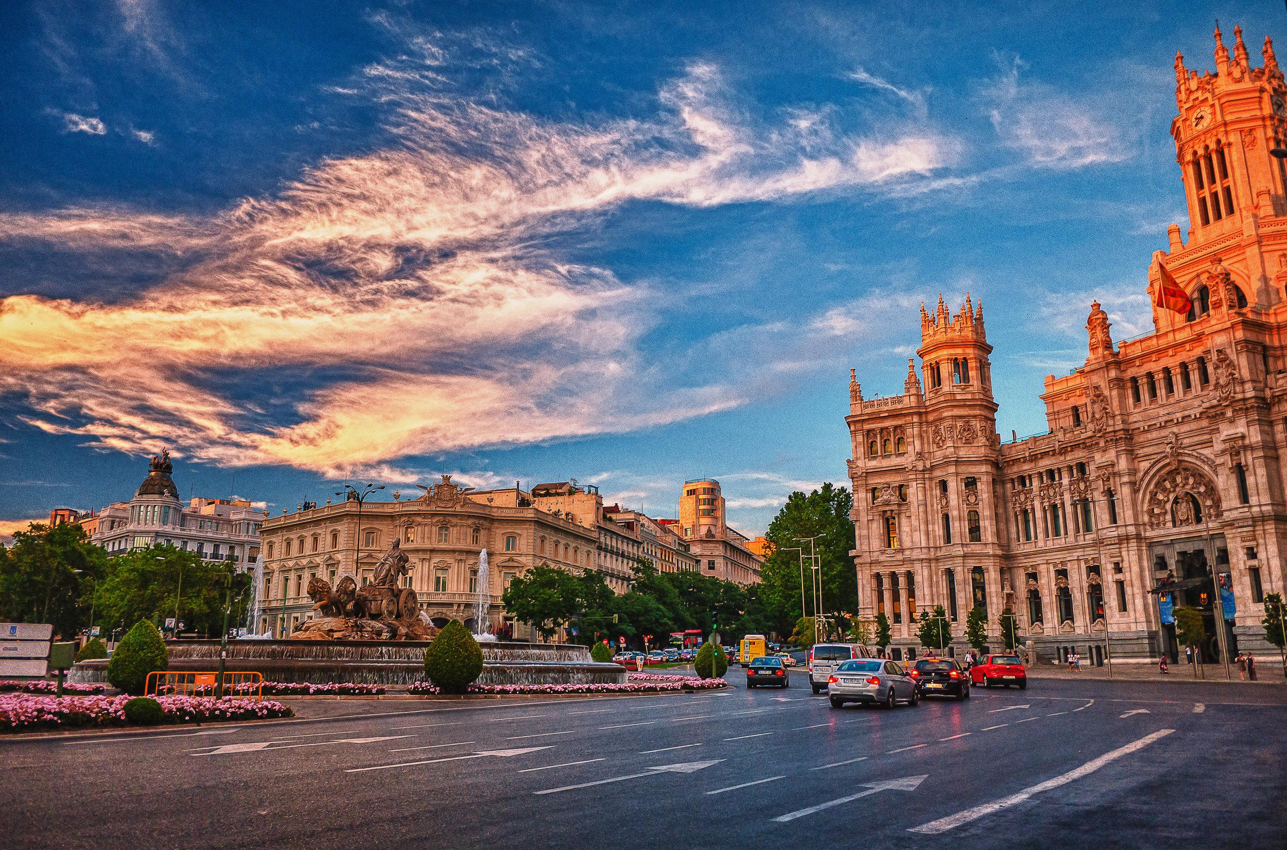 Cibeles y Correos ~ Madrid Spain