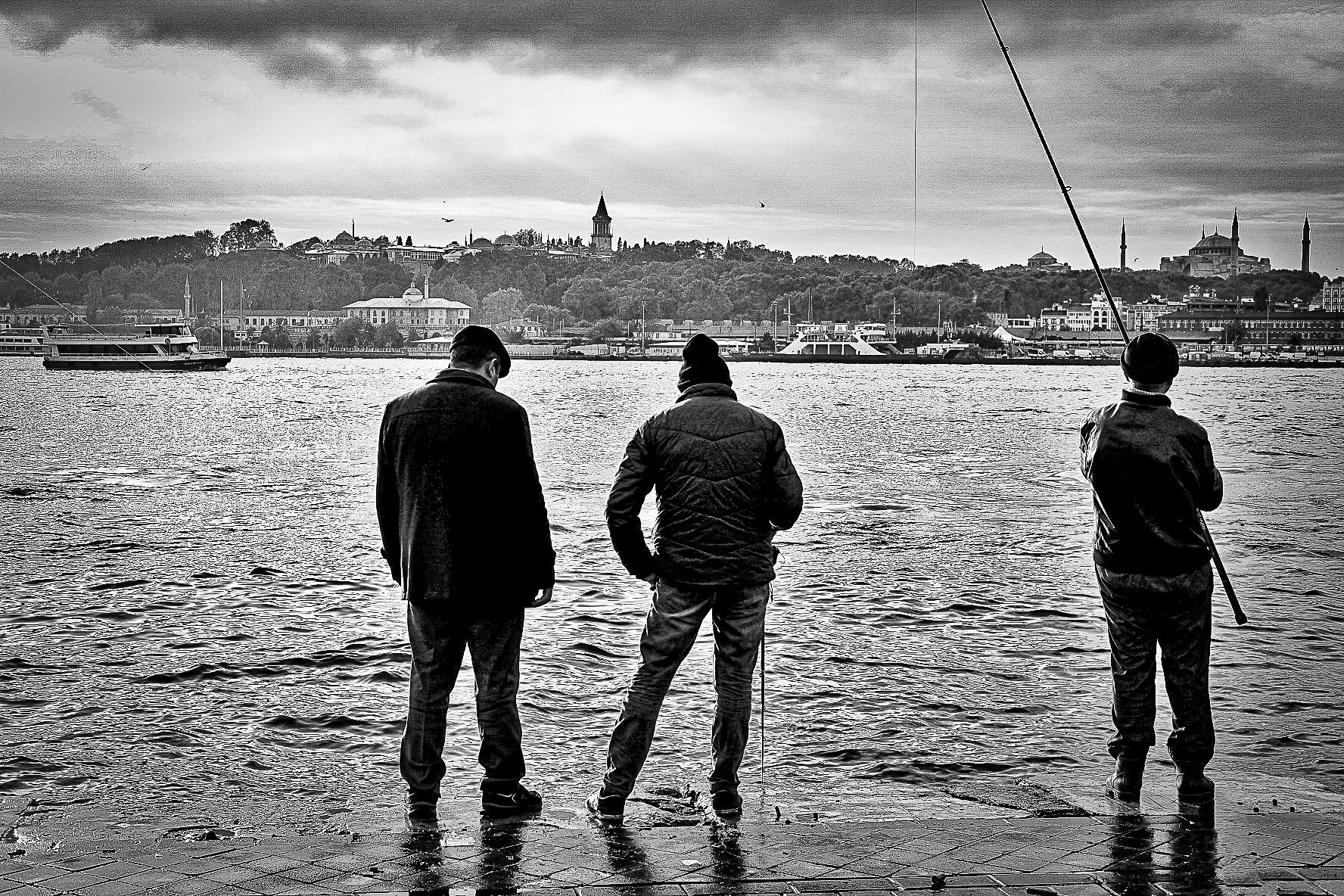 """""""Fisherman 3"""" ~ Istanbul Turkey"""