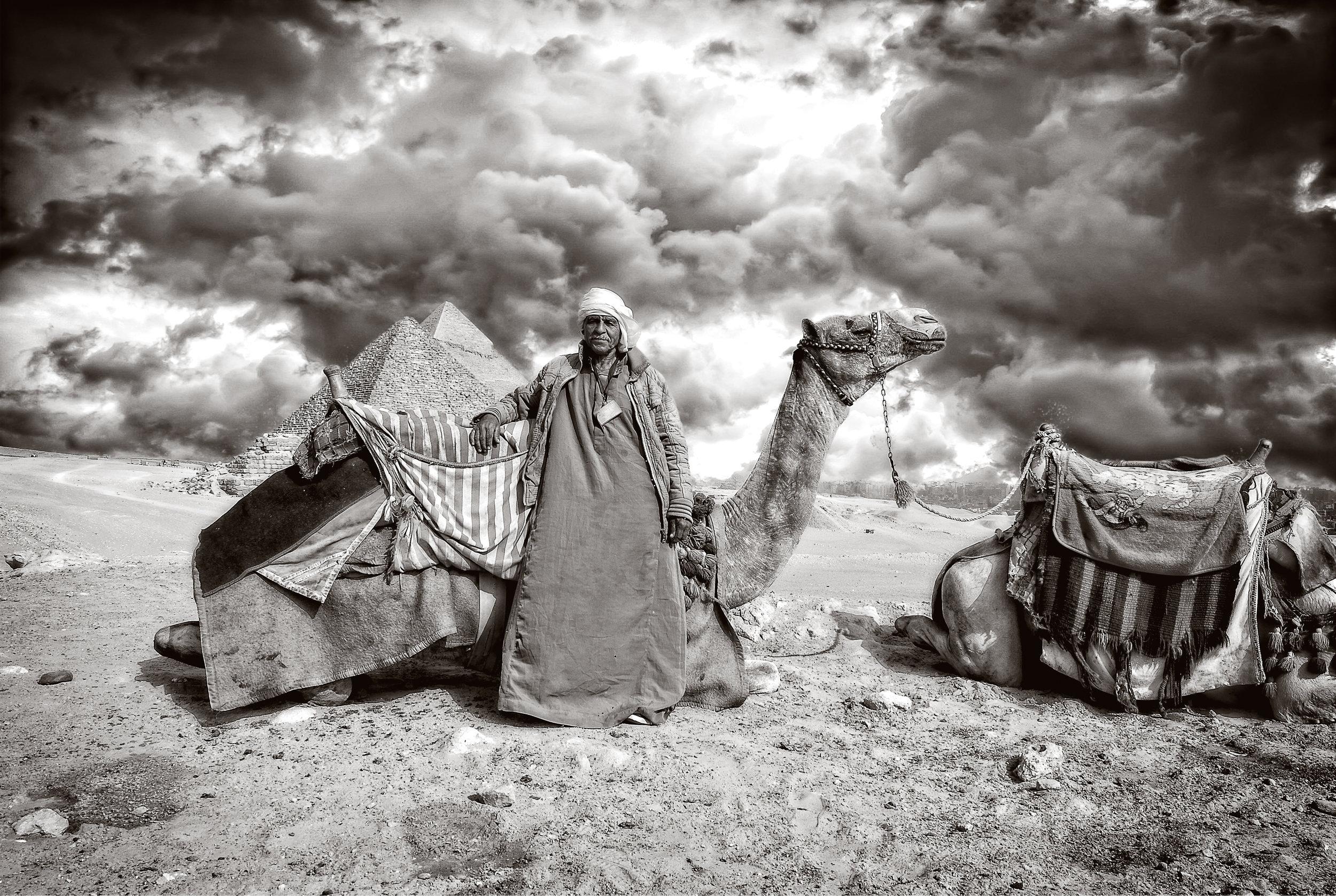 """Camel Guide"" ~ Giza Plateau, Egypt 2016"