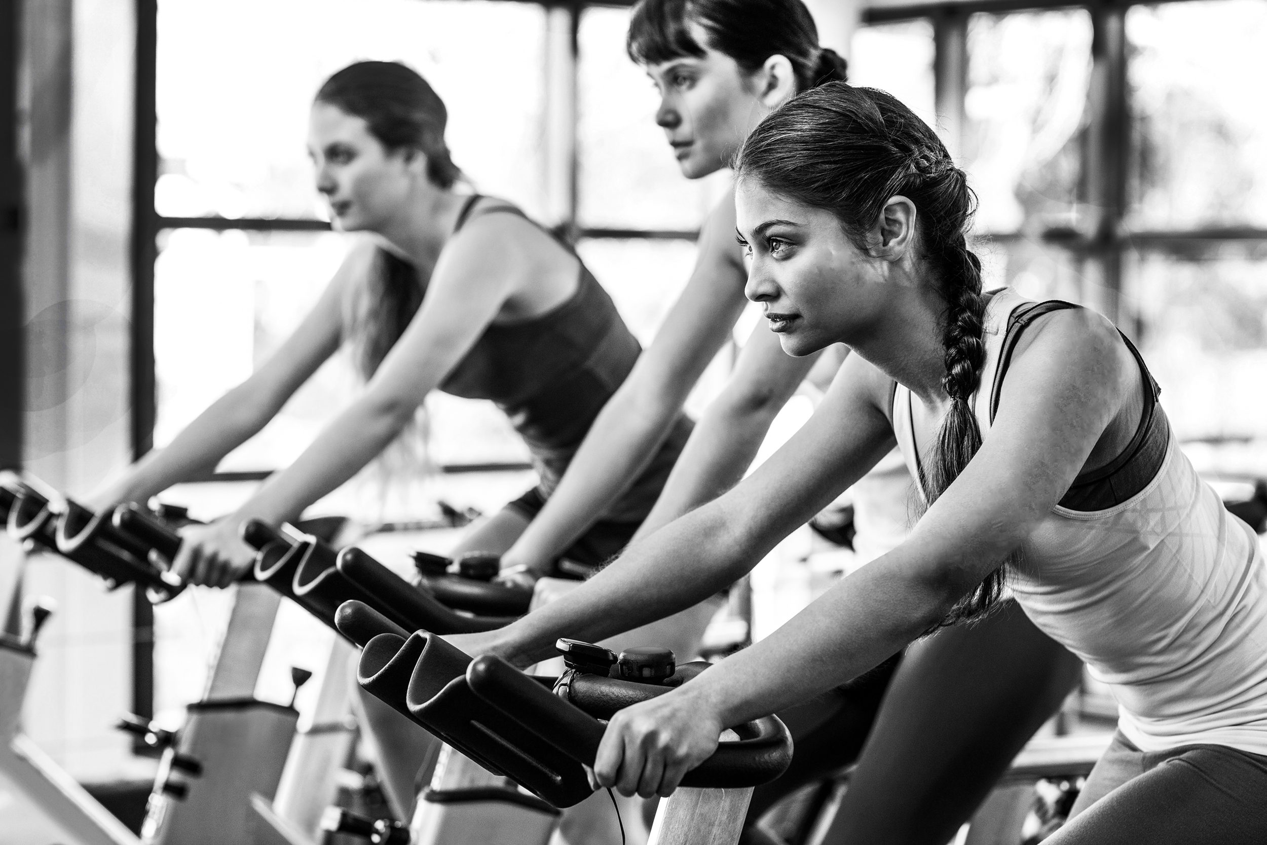 Cycling - We offer classes for every level, and each class is capped at 11 bikes so everyone can get the individual attention they need.