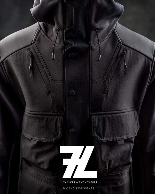 AW19 Collection is on its way! 7L to release its new high performance technical garments September 2019.  TREKsystem // Layer 5 // Rain Layer /: 3XDRY // C_Change Membrane // Cold Black Technology // Swiss Fabrics by @schoeller_wolle  #treksystem #trek #hike #walk #techwear #fashion #climb #outdoors #outerwear #performancewear #performancebrand #quality #qualityfabrics #technicalfabrics #apparel #apparelbrand #appareldesign #apparelmanufacturing @elinchrom_ltd @profotoglobal @profotousa @fujifilmx_uk @jamielundypro