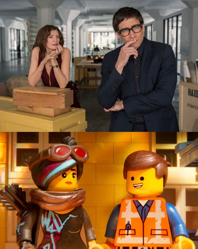 Velvet Buzzsaw The Lego movie 2 The Second Part