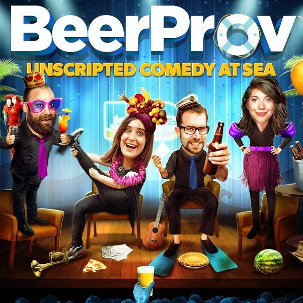 Get ready cruisers! There's a brand new team boarding the #mscseaside today and WE ARE THIRSTY!  Be sure to catch #beerprov in the Metropolitan Theatre this week onboard. Check your daily planner for showtimes. . . . #BeerProvatSea #msccruises #cruiselife #cruise #comedy