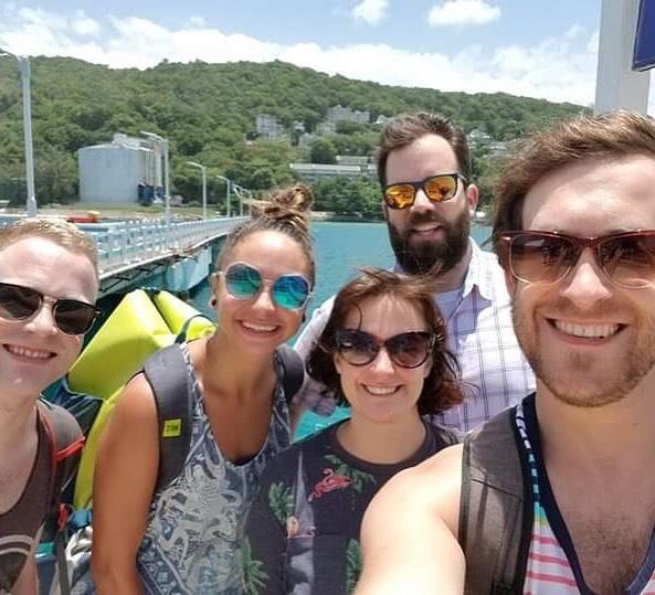Brand spanking new cast onboard MSC Seaside - first stop in beautiful Jamaica. . . . . . #BeerProv #BeerProvatSea #msccruises #cruiselife #cruiseship #mscseaside