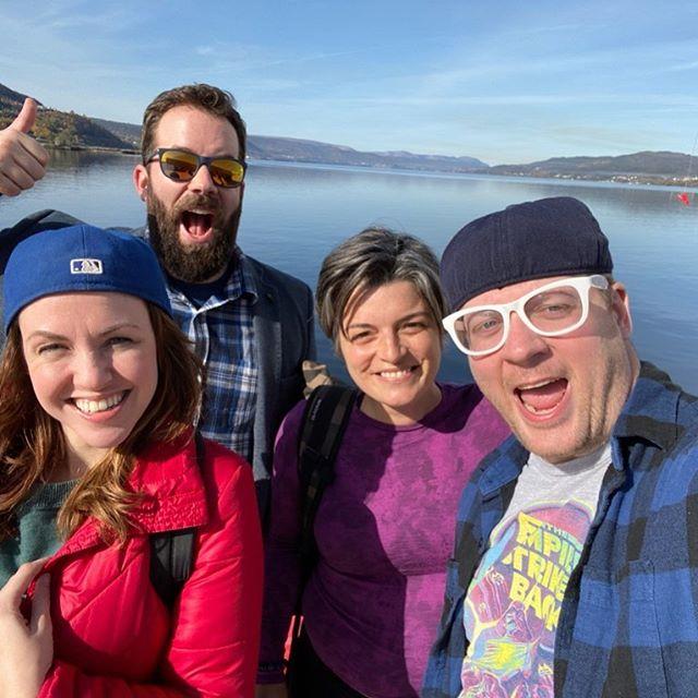 Hello Newfoundland! The cast of BeerProv onboard MSC Meraviglia docked in beautiful Corner Brook! . . . . . #beerprov #beerprovatsea #mscmeraviglia #msccruises #cruiseship #cruiselife #cruising