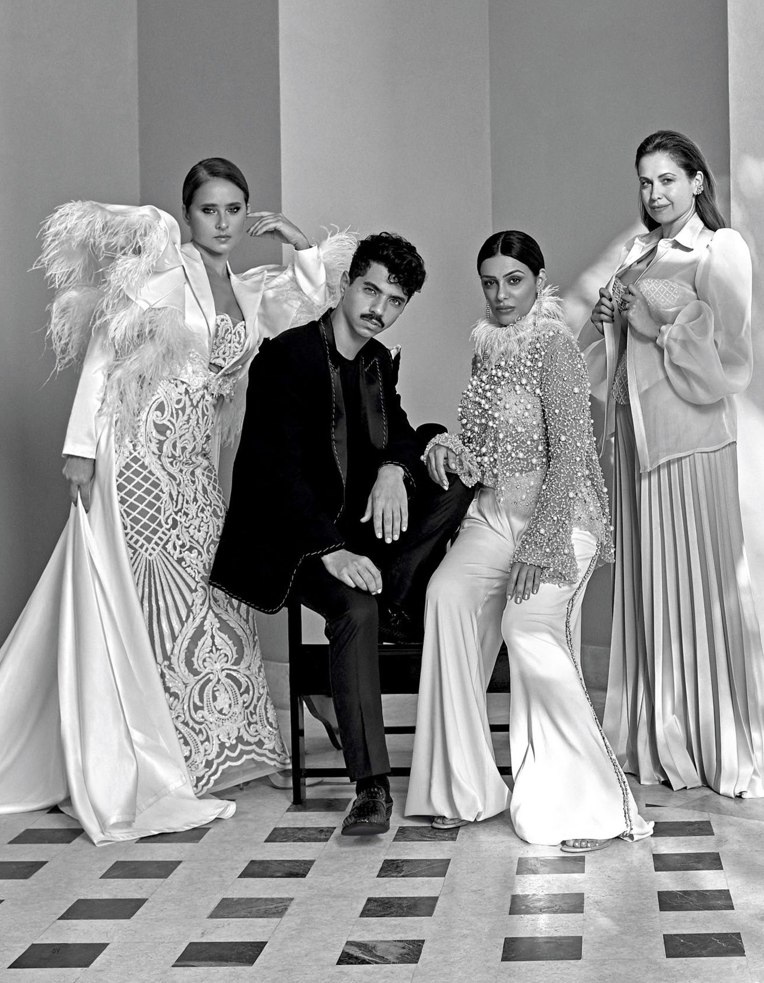 Kojak, Nelly, Injy and Raya X Vogue Arabia